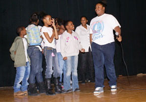 Reed Students perform.